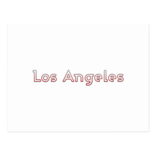 Los Angeles Postcards