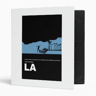 Los Angeles Poster 3 Ring Binder