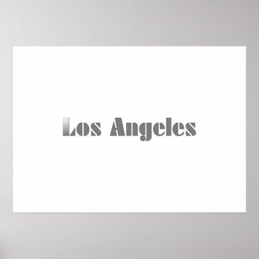 Los Ángeles Posters