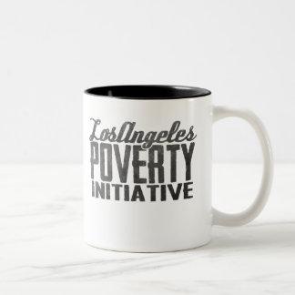 LOS ANGELES POVERTY INITIATIVE logo mug