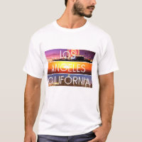 Los Angeles print design T-Shirt