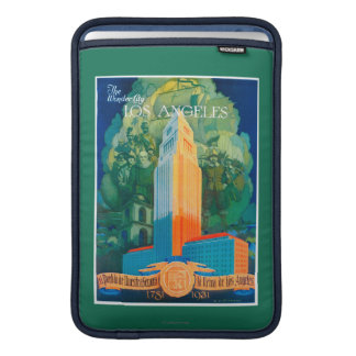 Los Angeles Promotional Poster Sleeves For MacBook Air