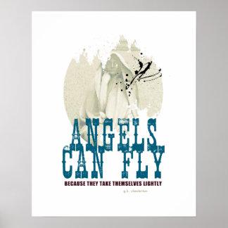 Los ángeles pueden volar el poster