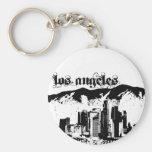 Los Ángeles puso para su ciudad Llavero Personalizado