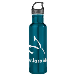 Los Angeles Rabbit Foundation Stainless Steel Water Bottle
