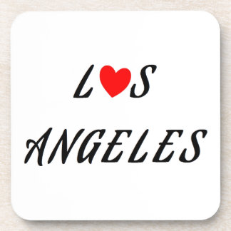 Los Angeles red heartwood of beech Beverage Coaster