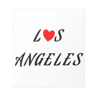 Los Angeles red heartwood of beech Notepad