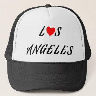 Los Angeles red heartwood of beech Trucker Hat
