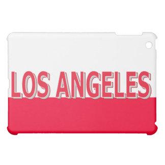 Los Angeles Red & White iPad Case