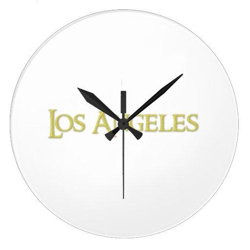 Los Ángeles Reloj De Pared