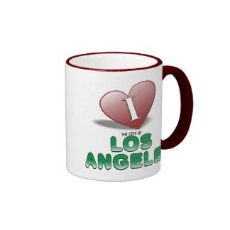 Los Angeles Ringer Mug