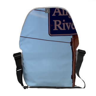 los angeles river courier bag
