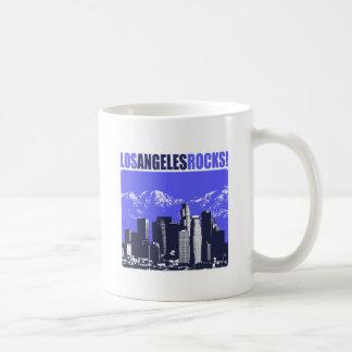 Los Angeles Rocks! Classic White Coffee Mug