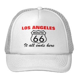 Los Angeles Route 66 Trucker Hat
