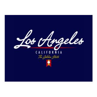 Los Angeles Script Postcard
