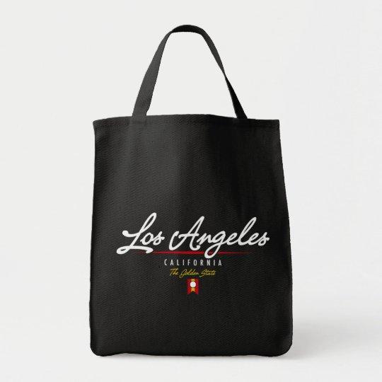 Los Angeles Script Tote Bag