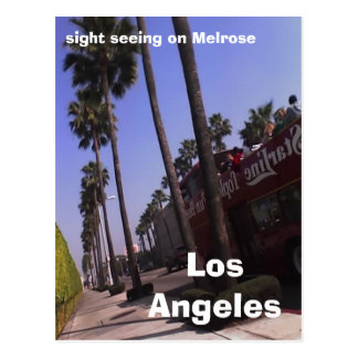 Los Angeles, sight seeing on Melrose Postcards