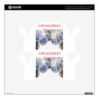 los angeles decal for PS3 controller