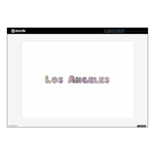 """Los Angeles Skin For 15"""" Laptop"""