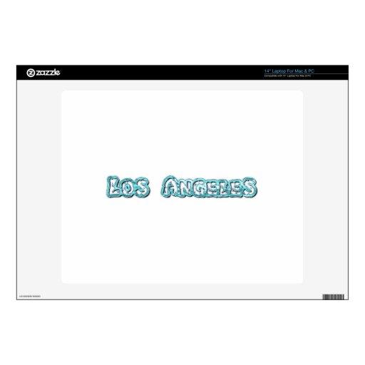 "Los Angeles Skins For 14"" Laptops"
