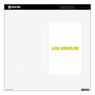 Los Angeles Skins For Kindle Fire