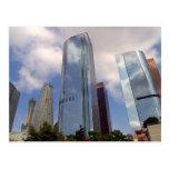 Los Angeles Skyline Cards Postcard