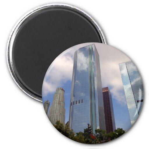 Los Angeles Skyline Fridge Magnet
