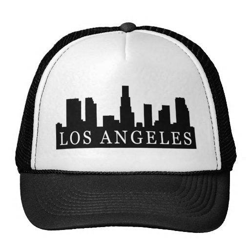 Los Angeles Skyline Mesh Hats