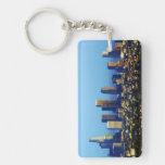 Los Angeles Skyline Keychain Acrylic Key Chain