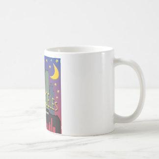 Los Angeles Skyline nighlife Coffee Mug