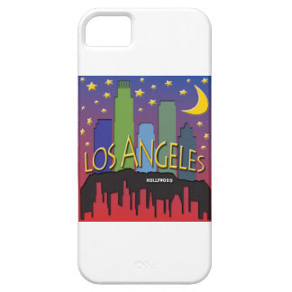 Los Angeles Skyline nighlife iPhone SE/5/5s Case