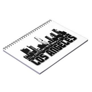 Los Angeles Skyline Notebook