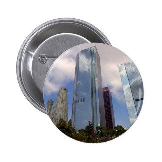 Los Angeles Skyline Pinback Button