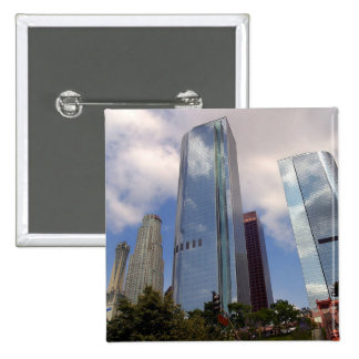 Los Angeles Skyline Pinback Buttons