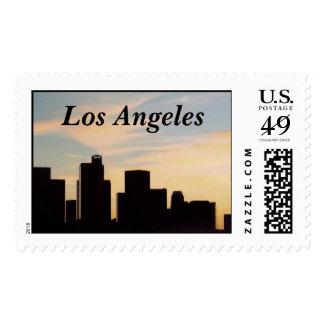 Los Angeles Skyline Postage