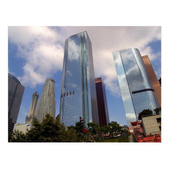 Los Angeles Skyline Postcard