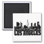 Los Angeles Skyline Refrigerator Magnets