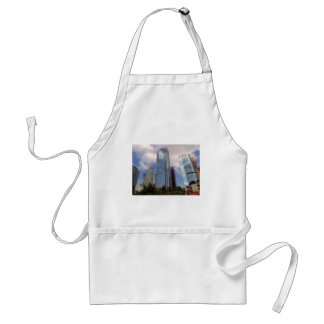LOS ANGELES SKYLINE SKYSCRAPERS CITY PHOTOGRAPHY A APRON