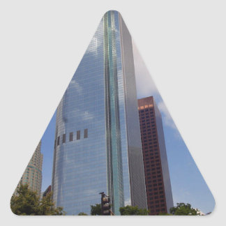 LOS ANGELES SKYLINE SKYSCRAPERS CITY PHOTOGRAPHY A TRIANGLE STICKER