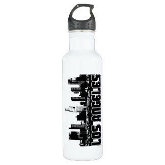 Los Angeles Skyline Stainless Steel Water Bottle