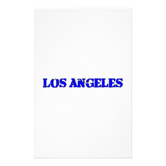 Los Angeles Stationery