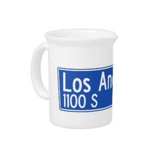 Los Angeles Street, Los Angeles, CA Street Sign Pitchers
