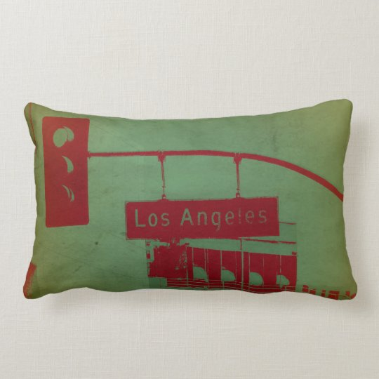 Los Angeles Street Lumbar Pillow