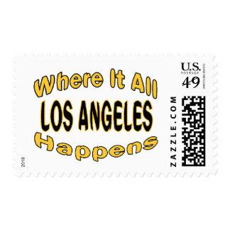 Los Ángeles sucede Estampilla