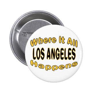 Los Ángeles sucede Pin Redondo 5 Cm