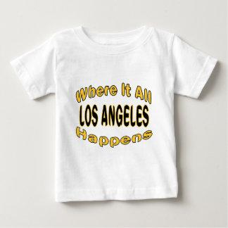 Los Ángeles sucede Remera