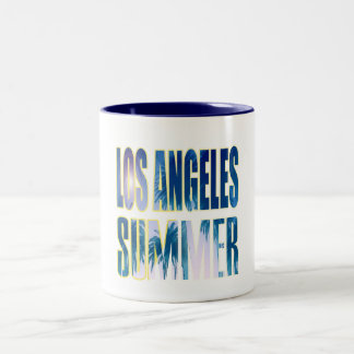 """""""Los Angeles Summer Letter Blue"""" Cup"""
