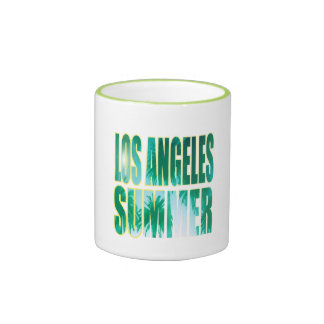 """""""Los Angeles Summer Letter Green"""" Cup"""