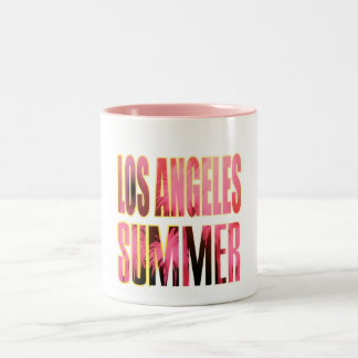"""""""Los Angeles Summer Letter Red"""" Cup"""