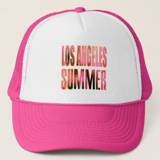 """Los Angeles Summer Letter Red"" Hat"